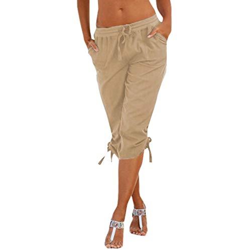 Beautyjourney Pantalones Cortos Playa Verano Mujer