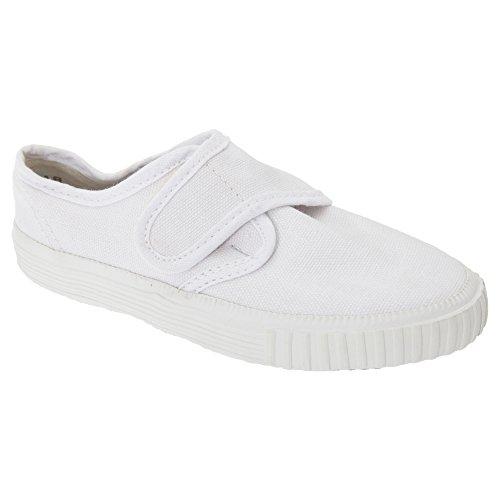 Dek - Scarpe bianche con chiusura a strappo per Bambini Bianco