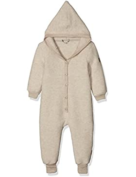 mikk-line Unisex Spieler Baby Wollanzug mit Kapuze