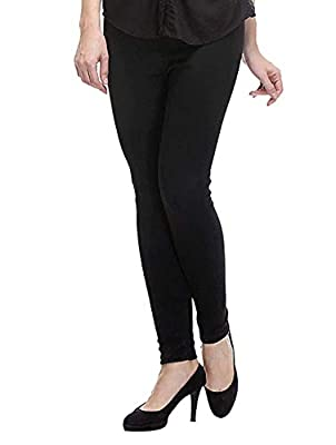 ROOLIUMS ® (Brand Factory Outlet) Women Winter Woolen Stretchable Lycra Leggings (Pack of 2) Free Size