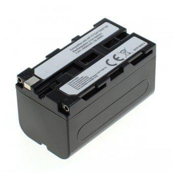 CELLONIC® Batterie premium pour Sony TRV130 TRV68 DSR-PD150 DSR-PD170 DSR-PD170 MVC-FD73 (4400mAh) NP-F750,NP-F570,NP-F960 Batterie de recharge, Accu remplacement