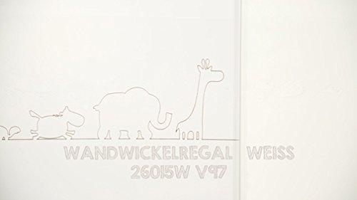 Roba 26015W V97 – Wandwickelregal, weiß - 5