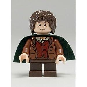 LEGO El Señor De Los Anillos: Frodo Baggins Minifigura Con Verde Capa 4