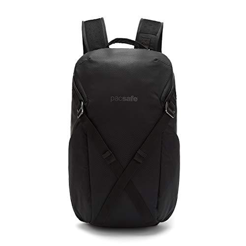 Pacsafe Venturesafe X24 Anti-Diebstahl Rucksack, Reiserucksack, Handgepäck mit Sicherheitstechnologie, 24 Liter - Schwarz/Black