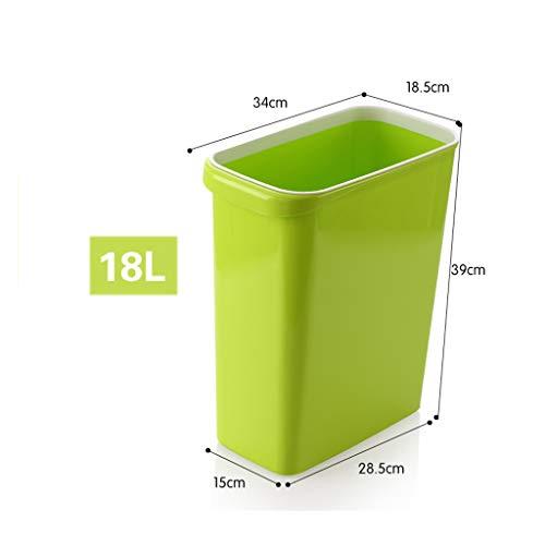 WEWE Gran Capacidad Cubo de la Basura