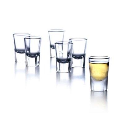 Rosendahl 25357 Grand Cru Schnapsglas, 6 Stück, 4 cl Shot Glas