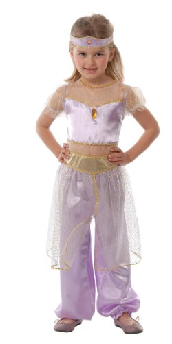 Guirca - Costume Da Principessa Del Deserto 5/7 Anni