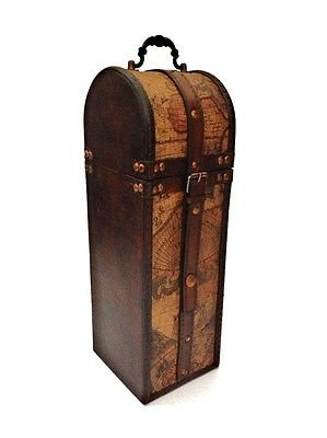 vintage-style-wine-bottle-gift-box-wooden-old-map-atlas-design-storage-holder