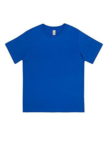 EarthPositive - Junior Classic Organic T-Shirt / Bright Blue, 122/128