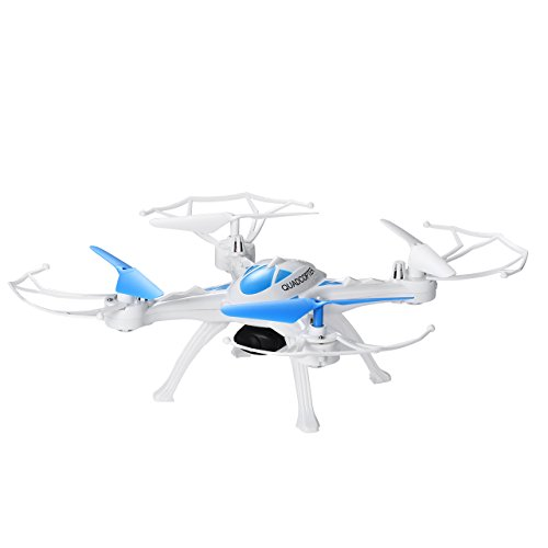 OMorc - Drone con Cámara HD, Quadcopter Cuadricoptero de 6 Axis y Control Remoto 2.4GHz, 1G Tarjeta Micro SD, Modo...