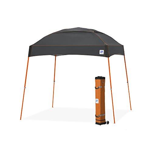 Faltzelt Dome 3x3m Color Steel Gray, Pavillon -