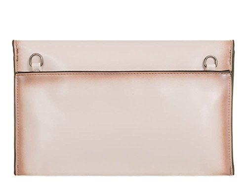Haute For Diva S New Ladies Edge Borsa In Pelle Ecopelle Per Il Tempo Libero In Ecopelle - Grigio, Grande Beige