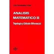 Análisis matemático II: Tipología y cálculo diferencial (Ciencia Y Técnica)
