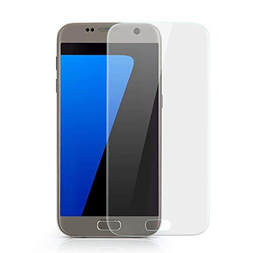 VAPIAO Panzerfolie passend für Samsung Galaxy S7 Displayschutz Folie gewölbte Displays Full Cover Curved 3D Nano Screen Protector in Transparent