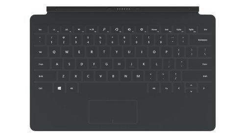 Original Microsoft Surface Touch Cover 2 Tastatur mit Hintergrundbeleuchtung für Surface Pro Surface PRO2 Schweiz/Deutsch QWERTZ LAYOUT (Surface Tastatur 2)