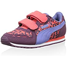 Puma Zapatillas Cabana Racer Animal V Kids Berenjena / Lila EU 32 (UK 13)