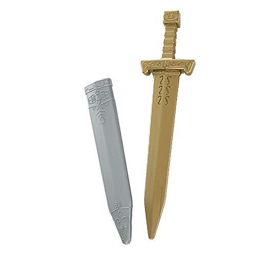 Königs Kostüm Kind Krieger - BINGGUO Halloween Kind Waffe Schild Kurzschwert Requisiten Messer Krieger Simulation Samurai Waffe König