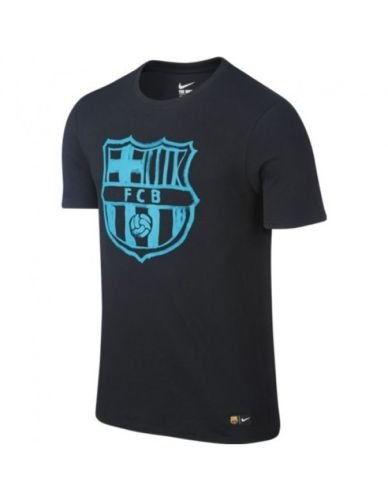 Official 2016 2017 FC Barcelona Crest T-Shirt manufactured by Nike. This black Barcelona tee is available to buy in adult sizes S, M, L, XL, XXL and is part of the mens FCB 2016 2017 training range.Barcelona Crest T-Shirt - Black The Barcelona Crest ...