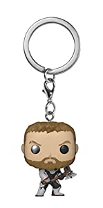 Funko- Pocket Pop Keychain: Avengers Endgame: Thor Marvel Collectible Figure, Multicolor (36679)