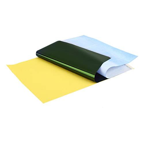 Qewmsg 1 lot (10 Blatt) Papierzufuhr Tracing Copy Body Art Schablone A4 Tattoo Transfer Carbon Verwendung mit Thermokopierer