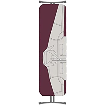 Addis Easy Fit Replacement Ironing Board Cover Upto 135x46cm Reflective Silver metalised Fabric 10 x 23 x 34 cm