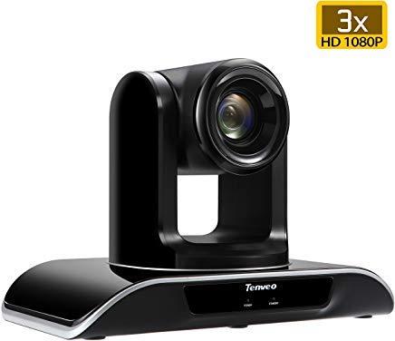 Tenveo TEVO-VHD 3X/10X/20X Full HD 1080p PTZ HDMI USB 3.0 Video-Konferenzkamera Business Meetings Schwarz 3X Zoom TEVO-VHD3U
