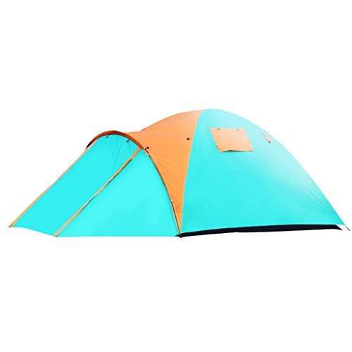 Catrp marca all'aperto tenda da campeggio 3-4 persone doppio strato impermeabile protetto uv tenda a cupola