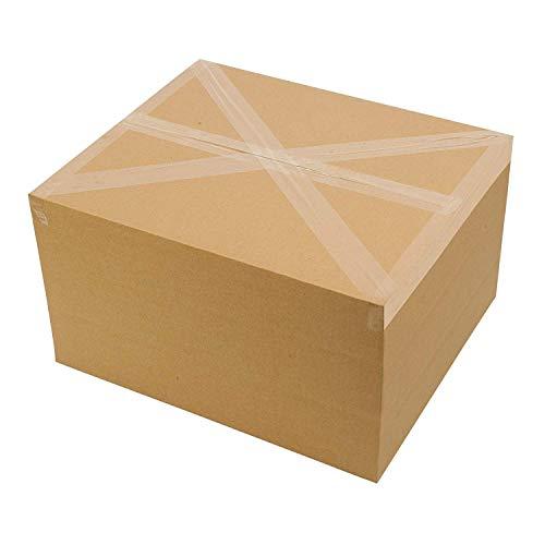 Packatape® — 6 Rollen 48mm x 66m transparent Paket-Klebeband für Päckchen und Kisten. Mit diesem 6er Pack hochleistungs-Klebeband erwerben sie ein sicheres, klebestarkes Verschlussmaterial für ihre Pakete auf das sie sich verlassen können. - 6