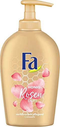 Fa Honey Honig Rosen Duft Flüssigseife, 6er Pack (6 x 250 ml) -