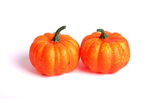 9 cm Mini Pumpkins Halloween Fancy Dress Party Gemüse Obst ()