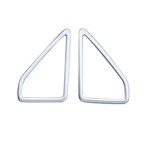 Chrome mat Porte avant haute enceinte stéréo Cadre Coque Garniture pour Ford Kuga 20132014201520162017