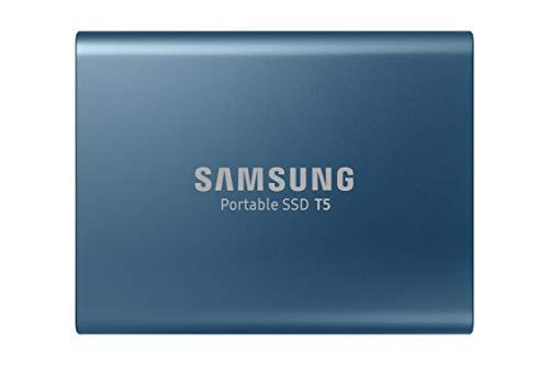 Samsung MU-PA500B/EU Portable SSD T5 500 GB USB 3.1 Externe SSD Blau