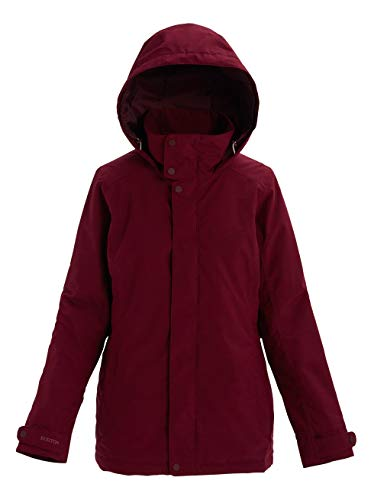 Burton Damen Jet Set Snowboard Jacke, Port Royal Heather, M