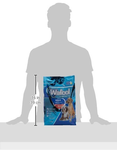 Wafcol Adult Sensitive Dog Food - Salmon & Potato - Grain Free Dog Food for Large and Giant Breeds - 12 kg Pack 5