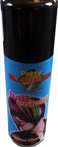 1 x Color Haarspray Haar Spray, Fb.:schwarz