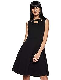 Miss Olive Polyester Skater Dress
