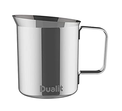 Dualit 85101 Milk Frothing Jug, Silver