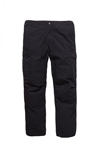 Vintage Industries Tyrone BDU Ripstop Cargo Pant Black Dark Navy