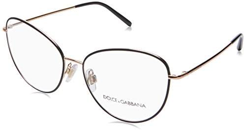 Brillen Dolce & Gabbana WIRE DG 1301 BLACK ROSE GOLD Damenbrillen