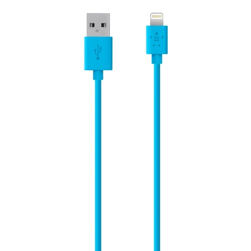 Belkin F8J023bt - Cable Lightning para dispositivos Apple (1.2 m, certificado MFi), azul