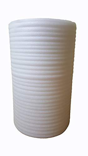 Trittschalldämmung 3 mm PE 100 cm x 100 m Dämmunterlage 100 m² Schaumfolie Laminatunterlage Parkettunterlage Dämmunterlage Schallschutz