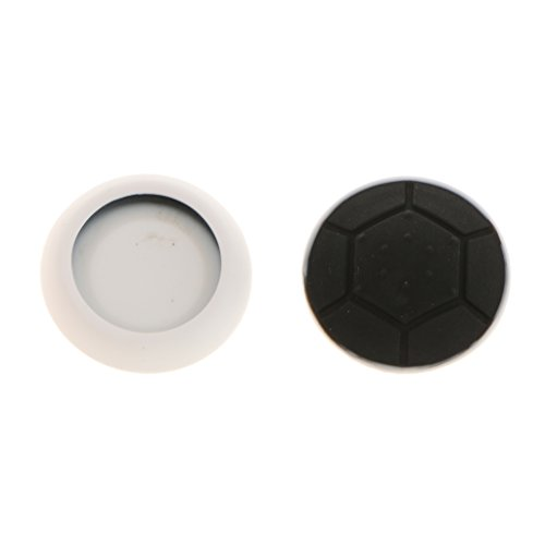 MagiDeal 2 x Silicone Thumb Stick Caps Grip Gamepad Analog Joystick for PS4 PS3 Black  available at amazon for Rs.100