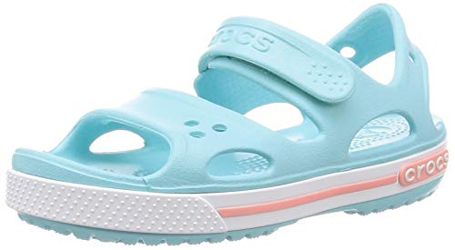 Crocs Unisex Kids' Crocband Ii Sandal Ps K Open Toe, Blue (Ice Blue 4o9), 10 UK Child 27/28 EU