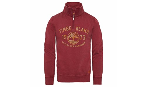 Timberland Fort Hill Half Zip Tim Oxblood XL