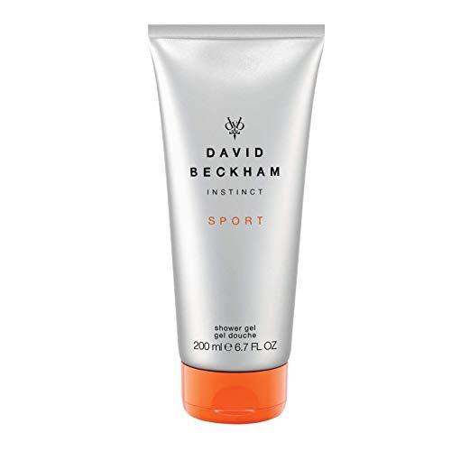 David Beckham INSTINCT Sport Hair und Body Wash - Erfrischendes Duschgel für Haut & Haare mit männlich-belebendem Duft - 1er Pack (1 x 200 ml)