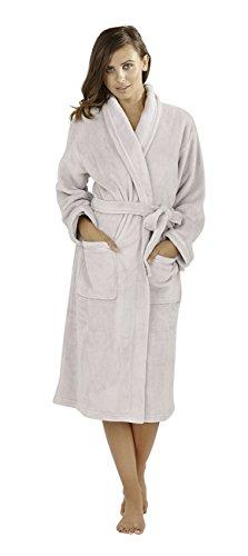 Hari Deals - Robe de chambre - Femme Argenté