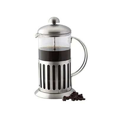 Stainless Steel Shock Proof Glass Coffee Plunger/maker by Apollo