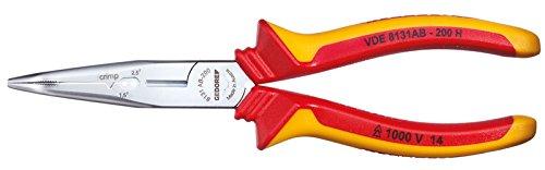 Gedore Ermöglicht leichtes Schneiden von Kabeln bis 5 x 2,5 mm² bzw. Ø 12 mm