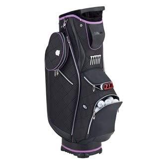 WILSON Damen WS Lady CART Bag BLBLPU Golftaschen, Black, One Size (Cart Lady Bag)