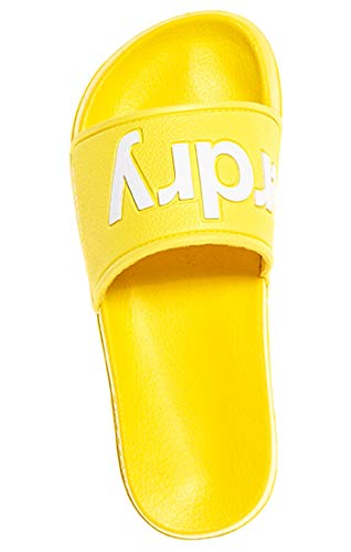 Superdry Damen Eva Pool Slide Zehentrenner, Gelb (Neon Yellow 24k) , 40/41 EU